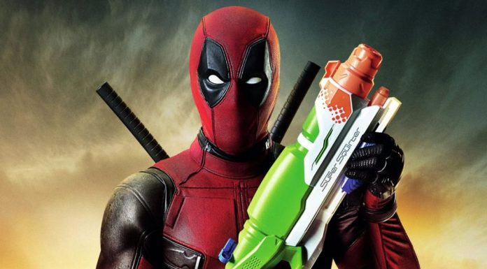 Deadpool Water Gun