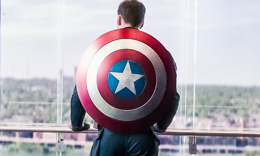 How captain america's america's ass joke in avengers