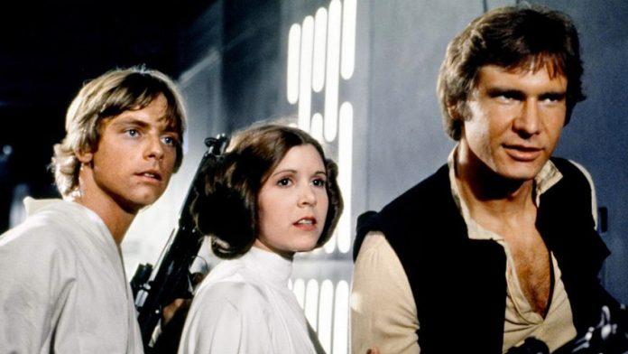 Luke Skywalker Princess Leia Han Solo Star Wars