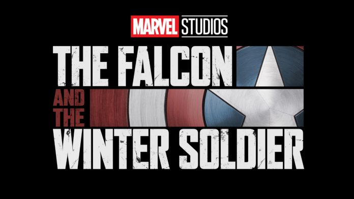 The Falcon and the Winter Soldier Disney Plus logo