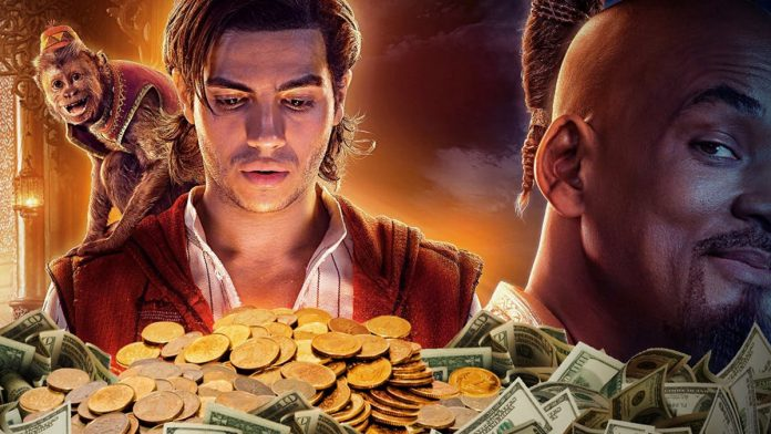 Aladdin 1 billion at box office