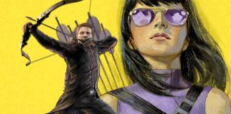 Hawkeye and Kate Bishop