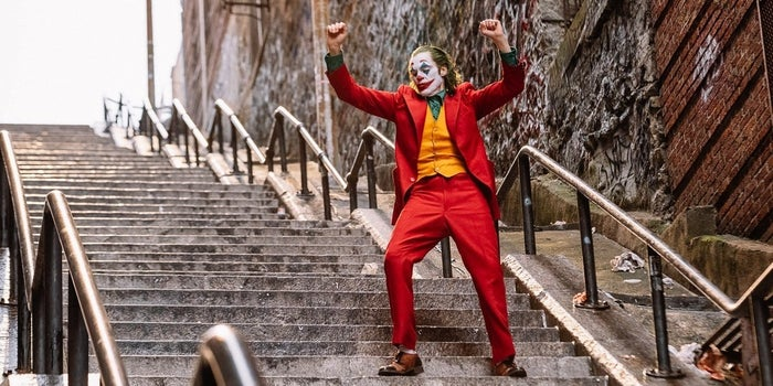 Joker Set Photo