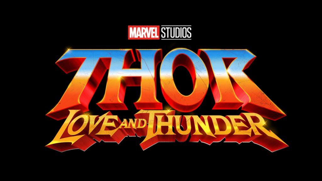 Thor 4 Love and Thunder logo