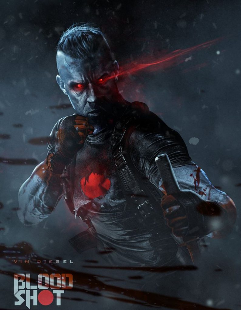 Vin Diesel As BloodShot - Artist @BossLogic
