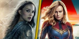 Captain Marvel Brie Larson Thor Love and Thunder Natalie Portman