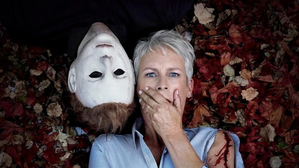 Jamie Lee Curtis Michael Myers Halloween