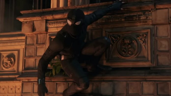 Spider-Man stealth suit far from home
