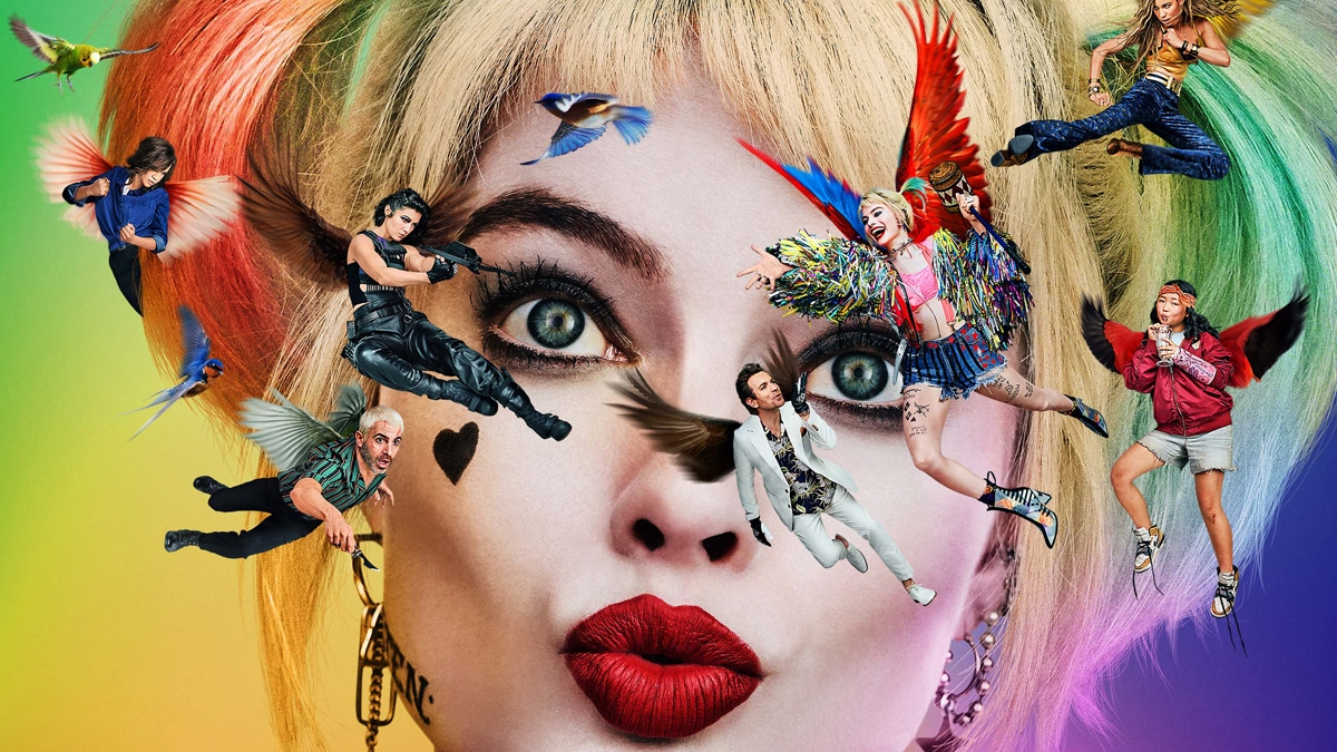 Harley Quinn Sees Birds Not Stars In Colorful New Birds Of Prey Poster