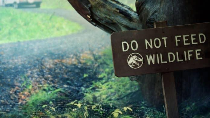 Jurassic World Battle at Big Rock Poster