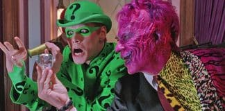 Batman Forever Two Face and Riddler