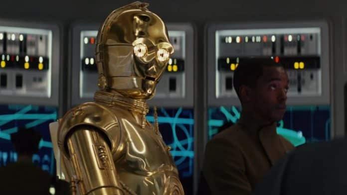 Anthony Daniels as C3PO