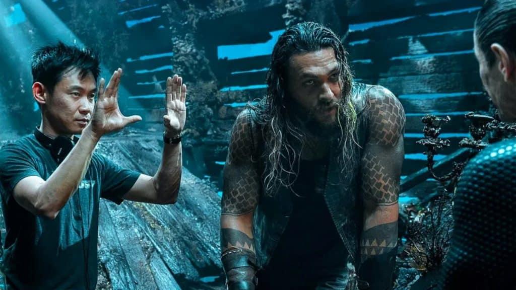 Aquaman Set Photo James Wan