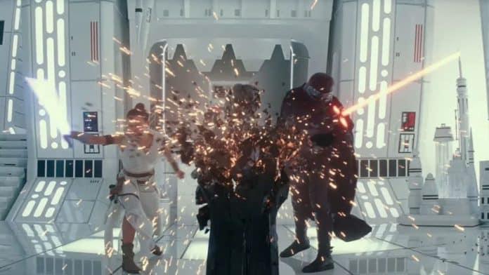 Star Wars 9 Darth Vader Statue Destroyed