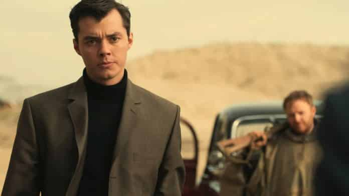 Jack Bannon in Pennyworth
