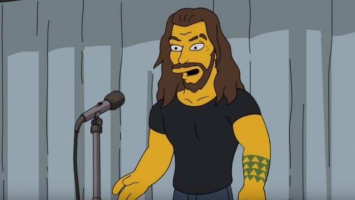 The Simpsons Jason Momoa