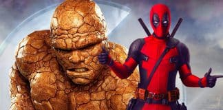 Fantastic Four The Thing Deadpool