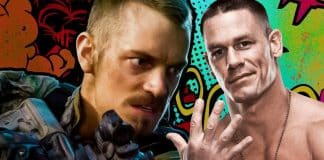 Joel Kinnaman and John Cena The Suicide Squad