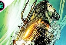 Aquaman Poster with Jason Momoa