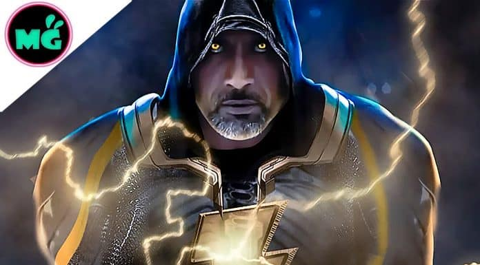 Black Adam Movie Dwayne Johnson