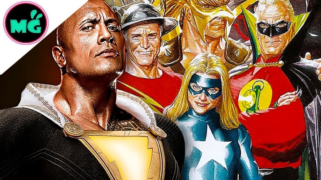 Black Adam with Justice Society of America