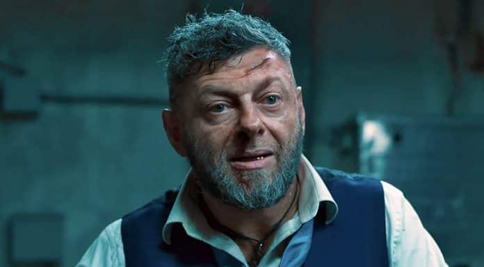 Andy Serkis as Ulysses Klaue in Black Panther