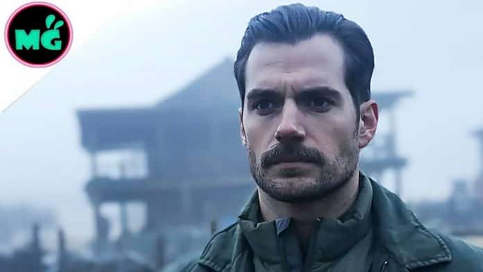 Henry Cavill in Mission Impossible Fallout
