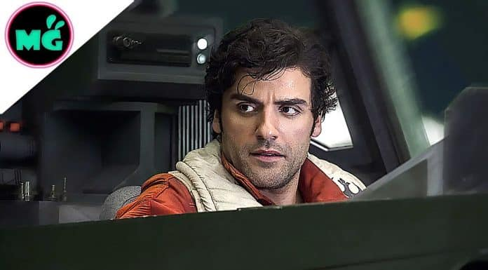 Poe Dameron in Star Wars The Last Jedi