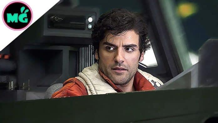 Poe Dameron in Star Wars The Last Jedi