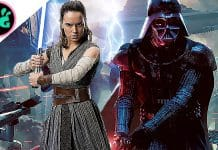 Star Wars 9 Rey and Darth Vader