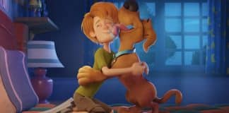 Young Shaggy and Scooby Doo in SCOOB!