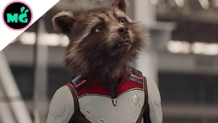 Rocket Raccoon in Avengers Endgame