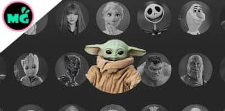 Disney+ Baby Yoda Icon