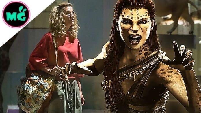 Kristen Wiig as Cheetah in Wonder Woman 1984