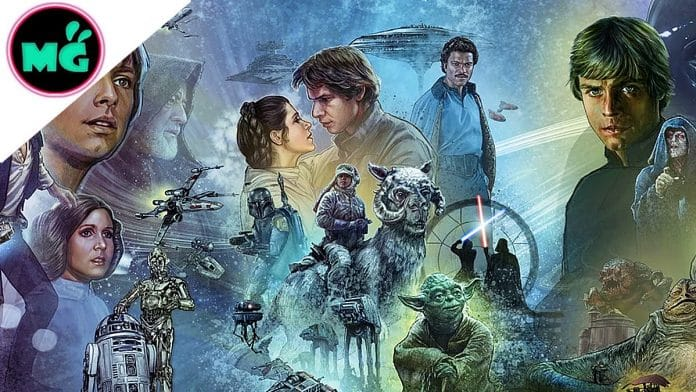 Star Wars Original Trilogy Mural