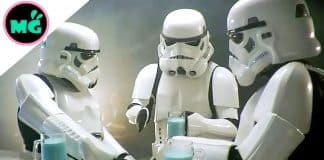 Stormtrooper With Blue Milk