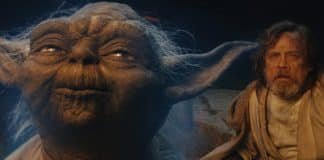Yoda in Star Wars: The Last Jedi