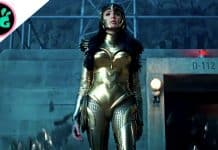 Wonder Woman in Eagle Armor