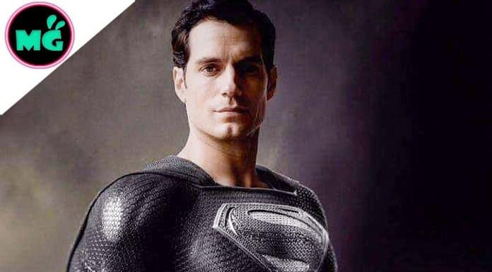 Justice League Black Superman Suit