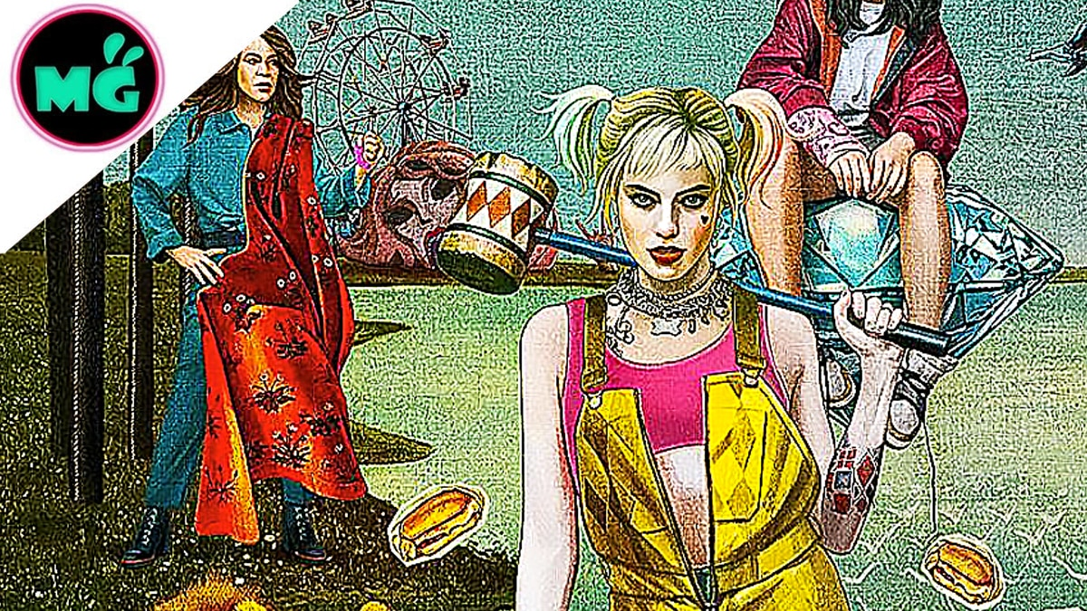 First Look At Harley Quinn S Beaver In New Birds Of Prey Poster
