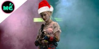 Birds of Prey Christmas Promo
