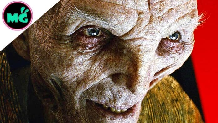Star Wars The Last Jedi Snoke