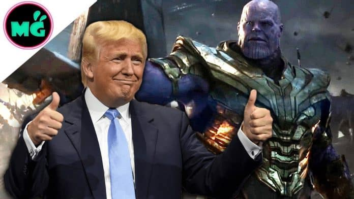 Donald Trump and Thanos