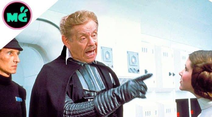 Frank Costanza as Darth Vader