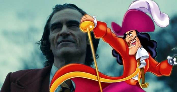 Joaquin Phoenix Captain Hook