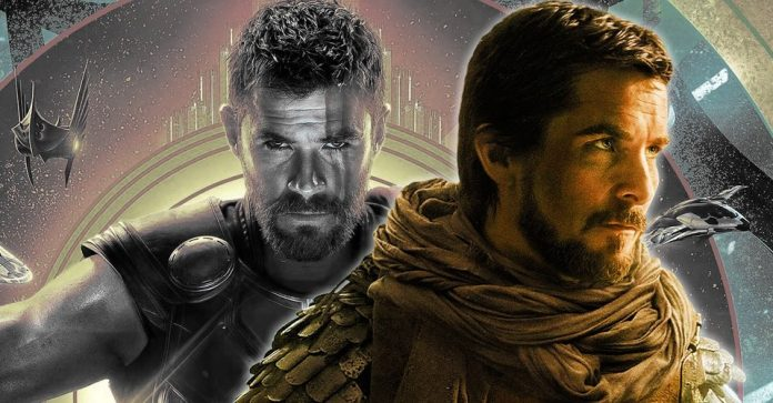 Thor and Christian Bale