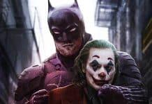 Robert Pattinson's Batman and Joaquin Phoenix's Joker
