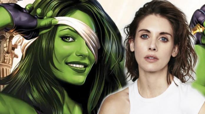 Alison Brie as She-Hulk