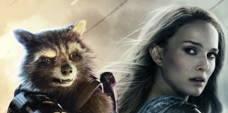 Jane Foster and Rocket