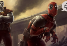 Deadpool Colossus Concept Art